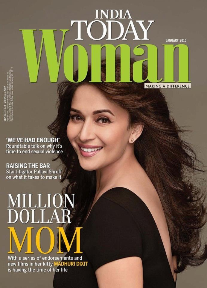 Madhuri Looked Radiant And Beautiful On The Cover Of India Today Woman