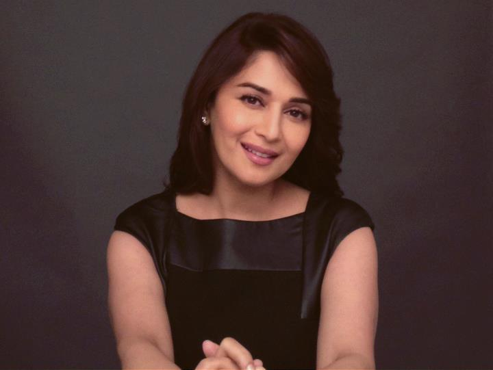 Madhuri Nice Look With Cute Smiling Photo For India Today Woman