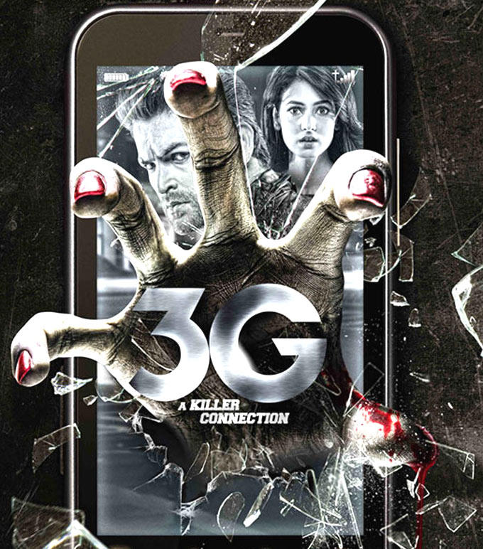 Sonal Chauhan And Neil Nitin Mukesh In 3G – A Killer Connection Movie Poster