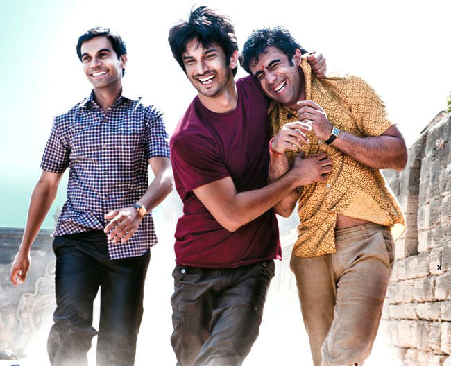 Sushant,Amit And Raj Cool Still From Kai Po Che!