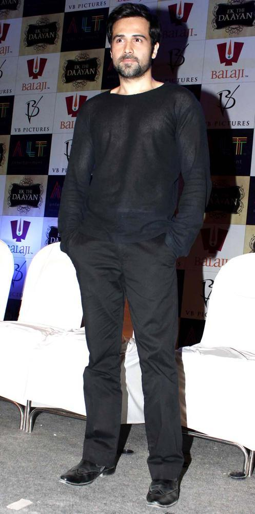 Emraan Hashmi Man In Black Snapped At The Launch Of Ek Thi Daayan