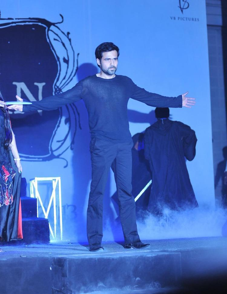 Emraan Looked Dapper On Stage At Launch Of Ek Thi Daayan
