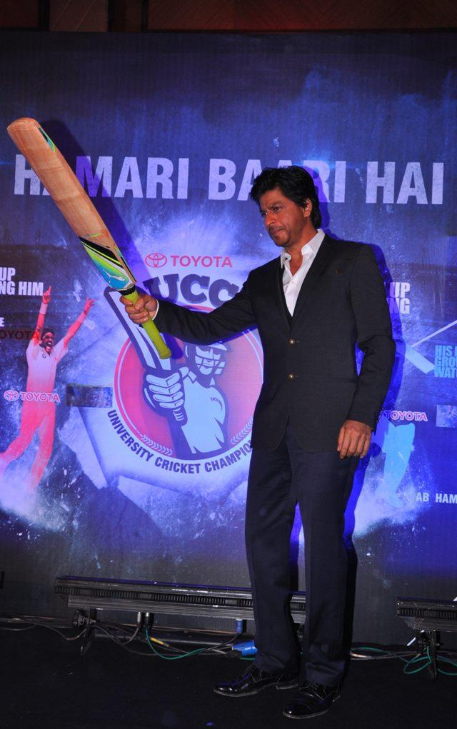 Shahrukh Khan At Toyota University Cricket Championship Event