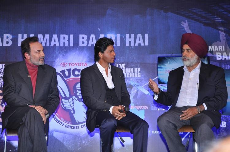 Shahrukh Khan Discussion Still At Toyota University Cricket Championship