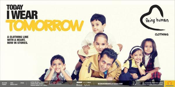 Salman Khan Cooled With Kids Photo Shoot For Being Human