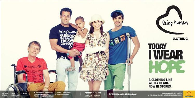 Salman Khan With Kids Photo Shoot For Being Human