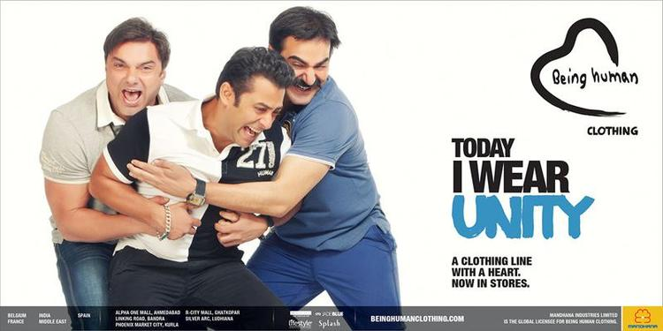 Salman,Arbaaz And Sohail Cool Pose Photo Shoot For Being Human