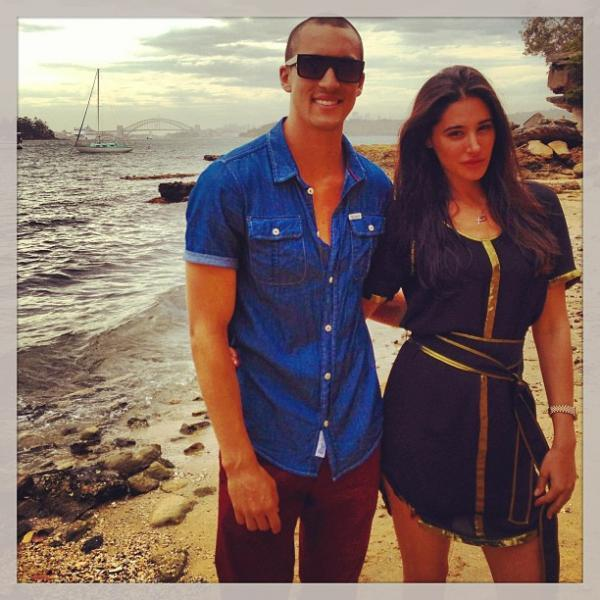 Nargis Fakhri With A Friend Cool Photo Still