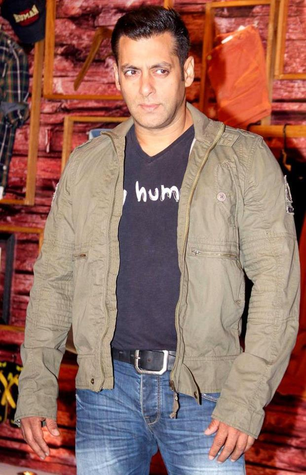 Salman Khan Dashing Look Photo Clicked At Being Human Store Launch