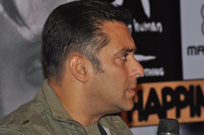 Salman Snapped At Being Human Store Launch