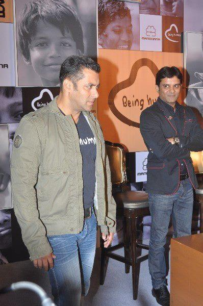 Salman Spotted At Being Human Store Launch