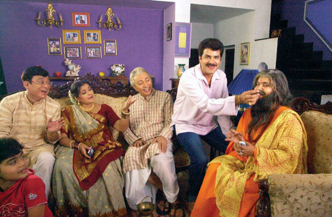 A Funny Still From Khichdi Serial