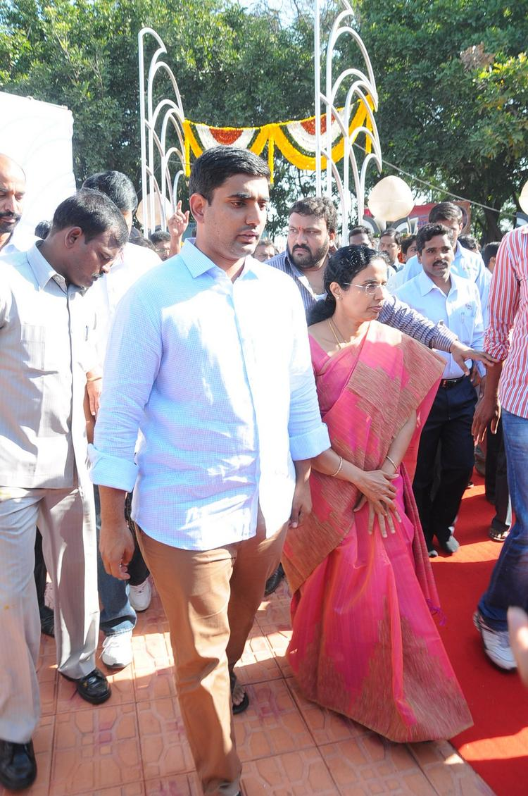 Guests Are Walking On At NTR Ghat