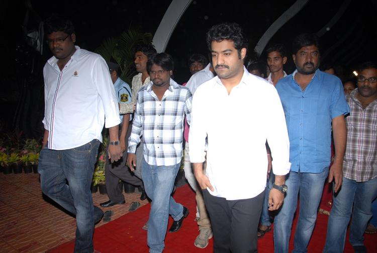 Jr. NTR Goes To Pay Tribute At NTR Ghat