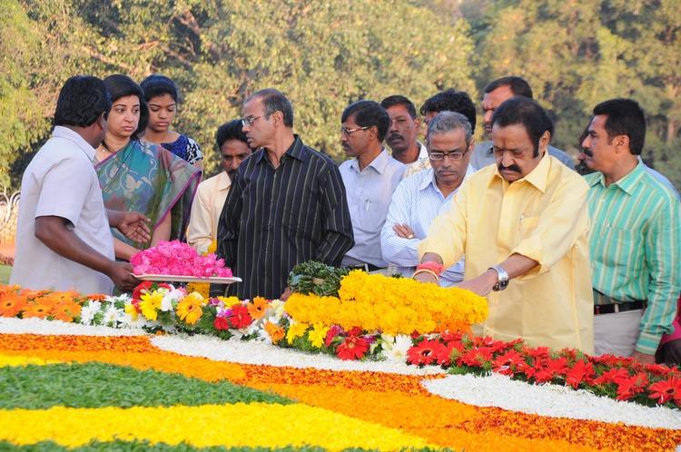 Nandamuri Harikrishna At NTR Ghat