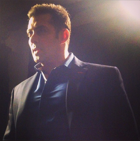 Bollywood Hunk Salman Khan Attend The CCL Glam Night Party
