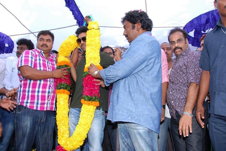 Ram,V. V. Vinayak And D.V.V. Danayya During The Nayak Movie Success Tour