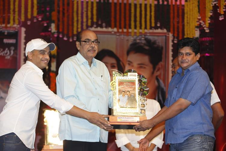 Dil Raju Attend The SVSC Triple Platinum Disc Function