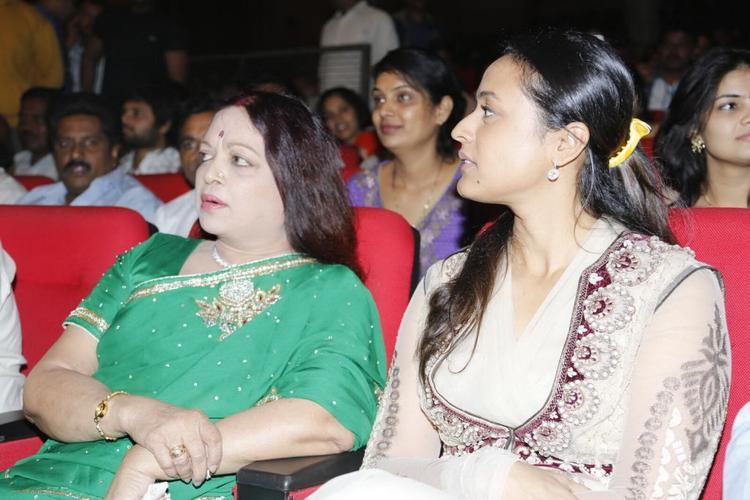 Namrata And Vijaya Nirmala Graced At SVSC Triple Platinum Disc Function
