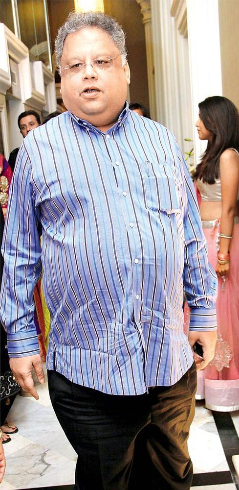 Rakesh Snapped At Sangeet Ceremony Of Gayatri And Arjun Hitkari