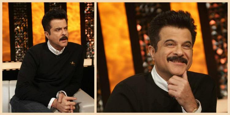 Anil Kapoor Cool Pose On The Front Row Event