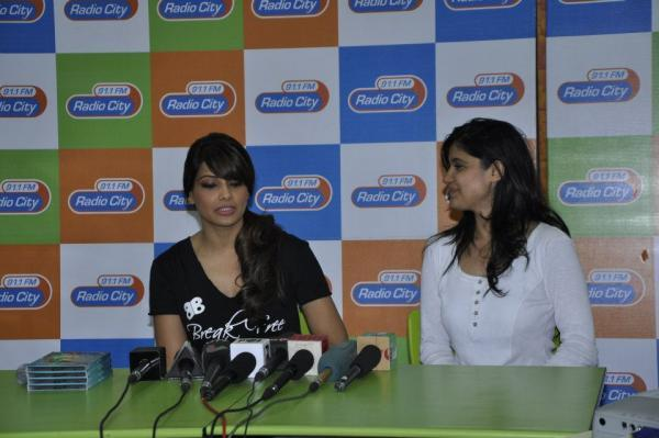 Bipasha Basu Addresses The Media At Radio City 91.1