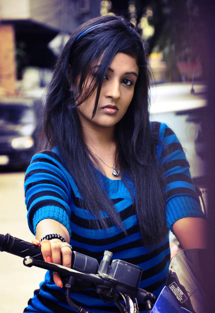 Amitha Rao Angry Look Photo From Movie Chemistry
