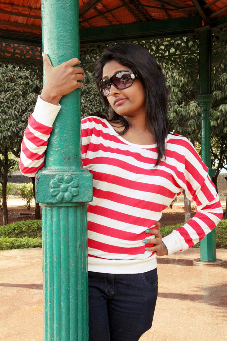 Amitha Rao Glamorous Photo Still From Movie Chemistry
