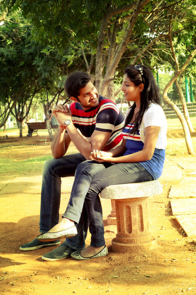 Sreeram And Amitha From Movie Chemistry