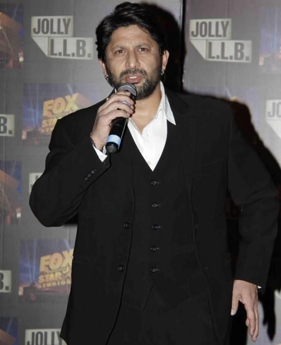 Arshad Warsi Speaks On At The Trailor Launch Of Bollywood Film Jolly LLB