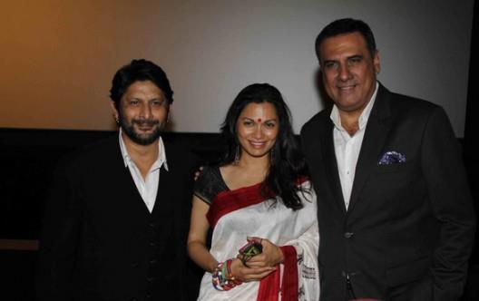 Arshad With Wife Maria And Boman Clicked At The Trailor Launch Of Bollywood Film Jolly LLB
