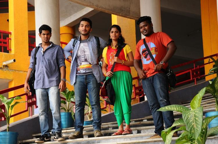 Vijayendra,Shashank,Dinesh And Samatha Dashing Look Photo From Telugu Movie Mandodari