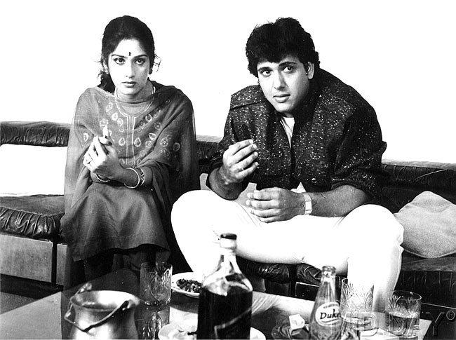 Govinda And Meenakshi Nice Still From The Film Awargi