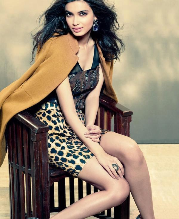Diana Penty Glamour Look Photo Shoot For Filmfare Magazine January 2013