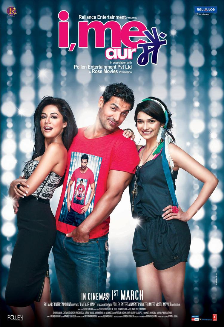 John,Prachi And Chitrangda In Second Poster Of  I Me Aur Main