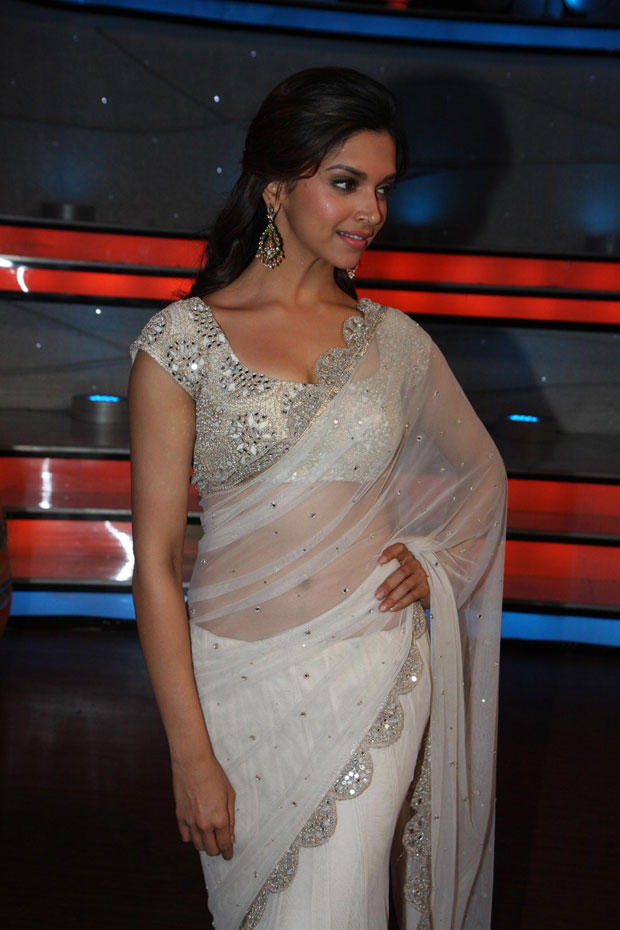 Clicked On The Sets Of Nach Baliye 5 For Promoting Race 2