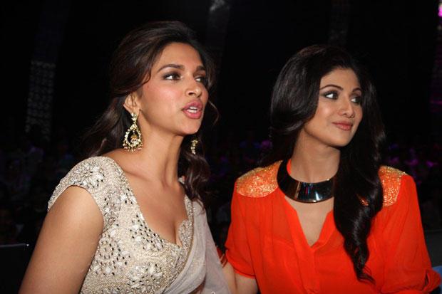 Deepika Padukone And Shilpa Shetty Spotted On The Sets Of Nach Baliye 5