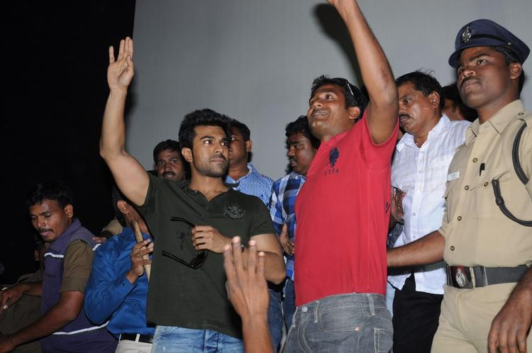 Ram Charan Teja Graced At Nayak Movie Success Tour