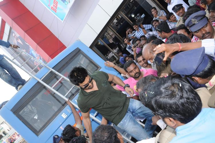 Ram Charan Teja Snapped At Nayak Movie Success Tour