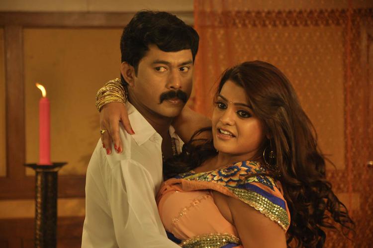 Tashu Bold Cosy Scene In Movie Mahha Raja Sri Gaaligadu