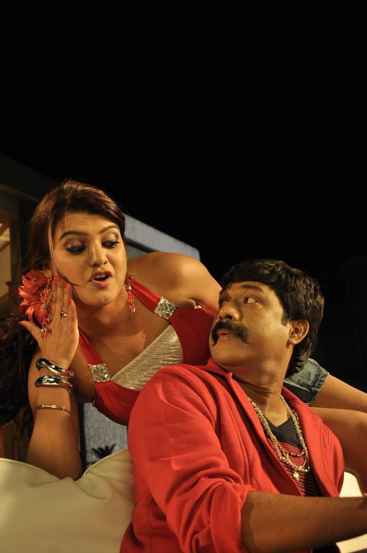 Tashu Latest Photo From Movie Mahha Raja Sri Gaaligadu