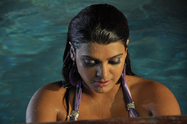 Tashu Looked Sexy In A Bath Costume In Movie Mahha Raja Sri Gaaligadu