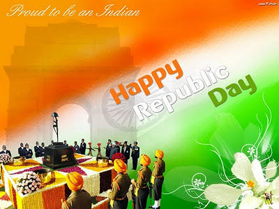 Indian Republic Day Wish Wallpaper Saheed Jyoti Mashal