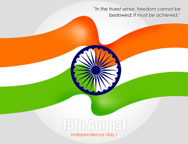 Indian Republic Greetings Wallpaper With Indian Flag Triranga