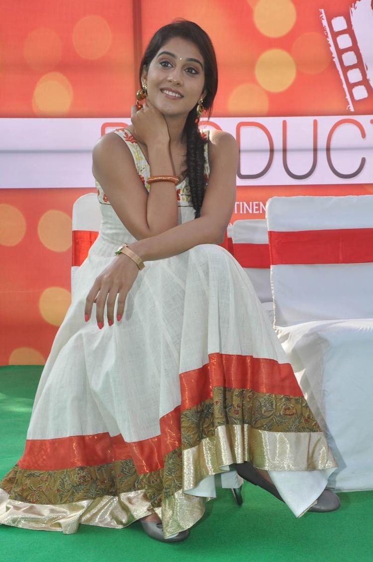 Regina Cassandra Cool Still At Madrasi Movie Launch Event
