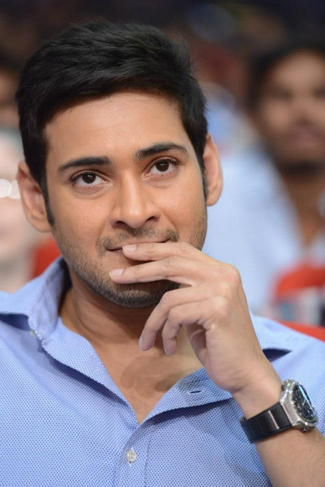 Mahesh Babu In A Deep Thought At SVSC Triple Platinum Disc Function