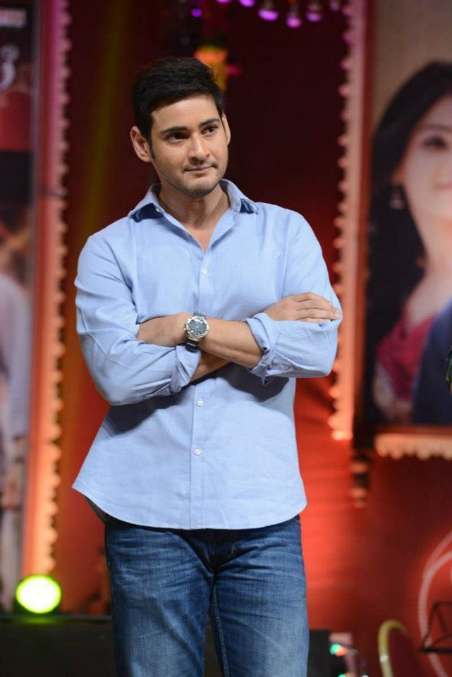 Mahesh Babu Looked Smart At SVSC Triple Platinum Disc Function