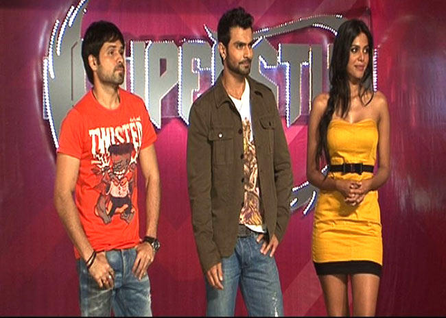 Emraan Hashmi And Ashmit Patel On The Sets Of Superstud And Superdude