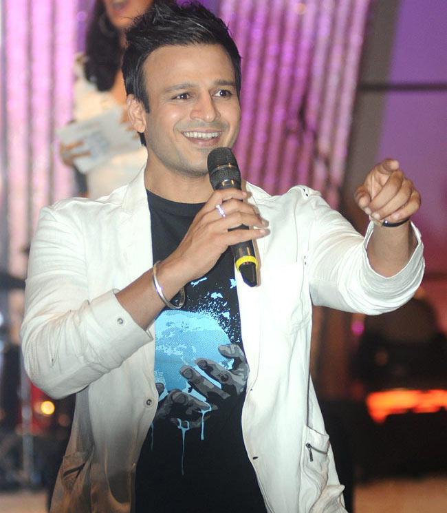 Vivek Oberoi Smiling Look Still