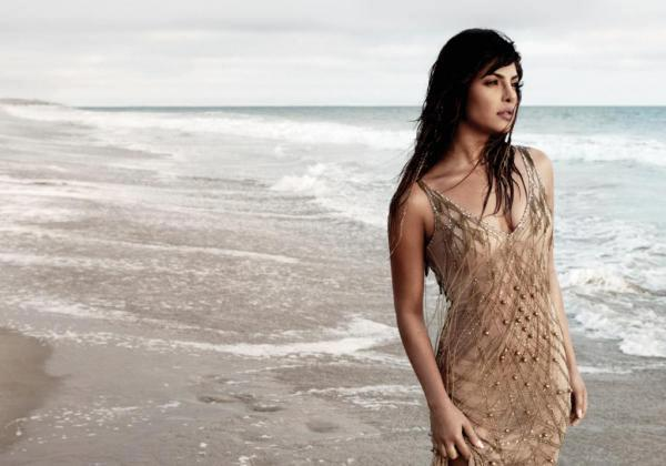 Priyanka Chopra Nice Cool Look Photo Shoot For Album In My City